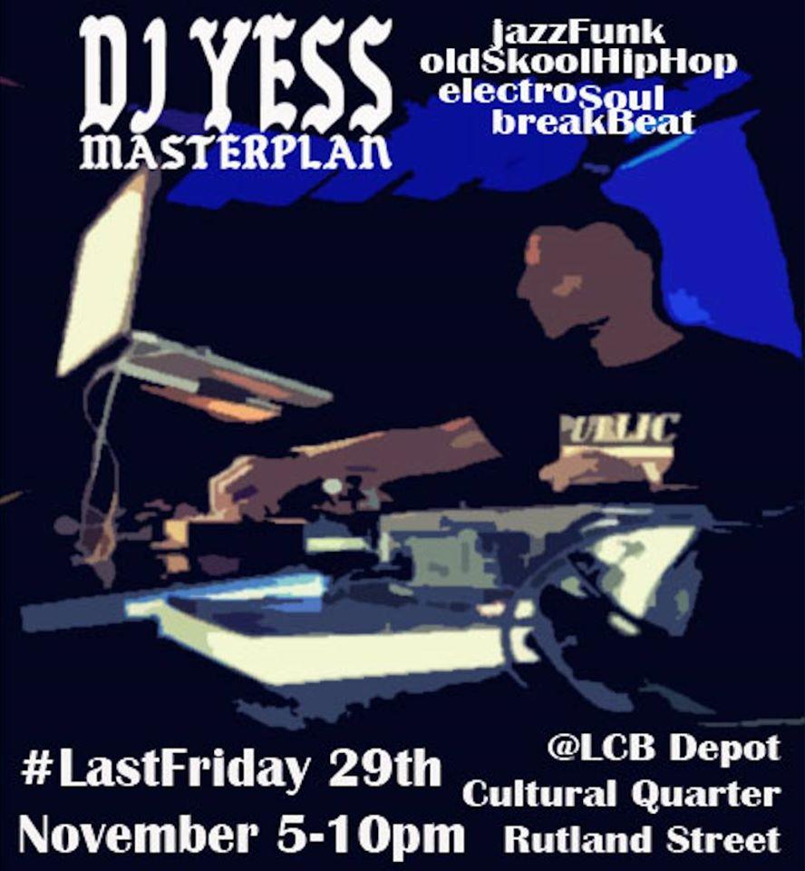 DJ Yess flyer