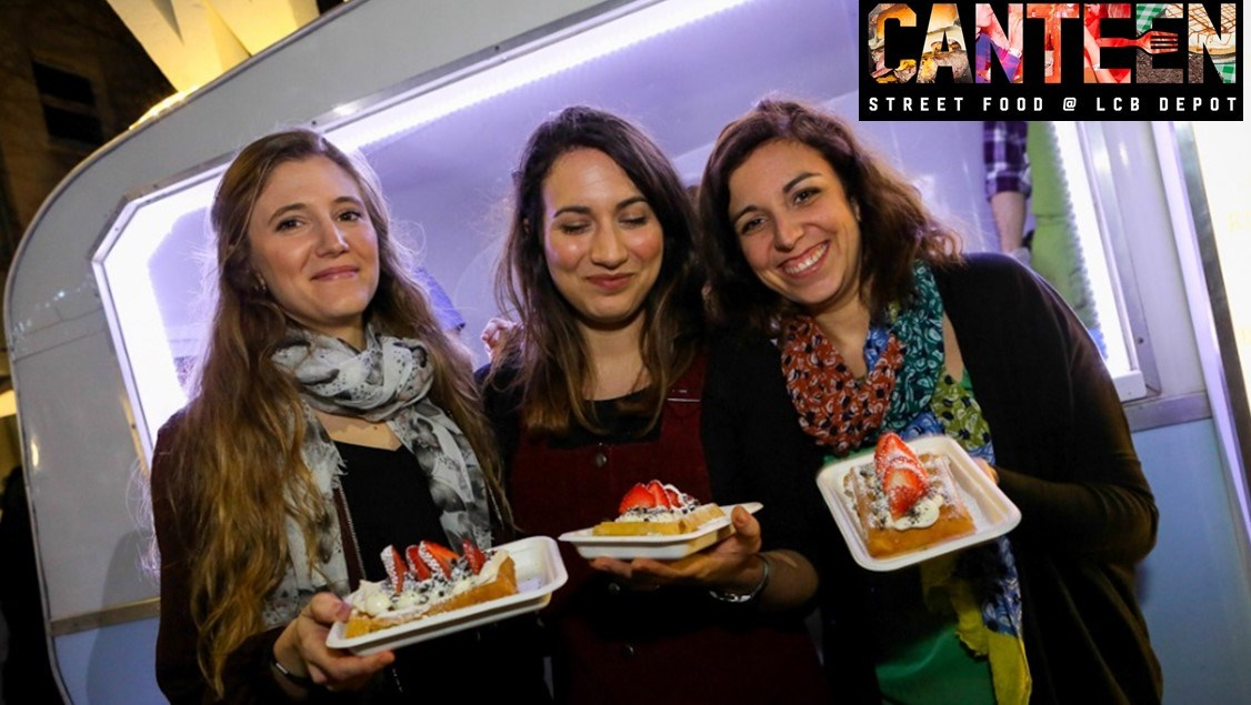 Canteen street food nights - the last Friday each month 5-10pm