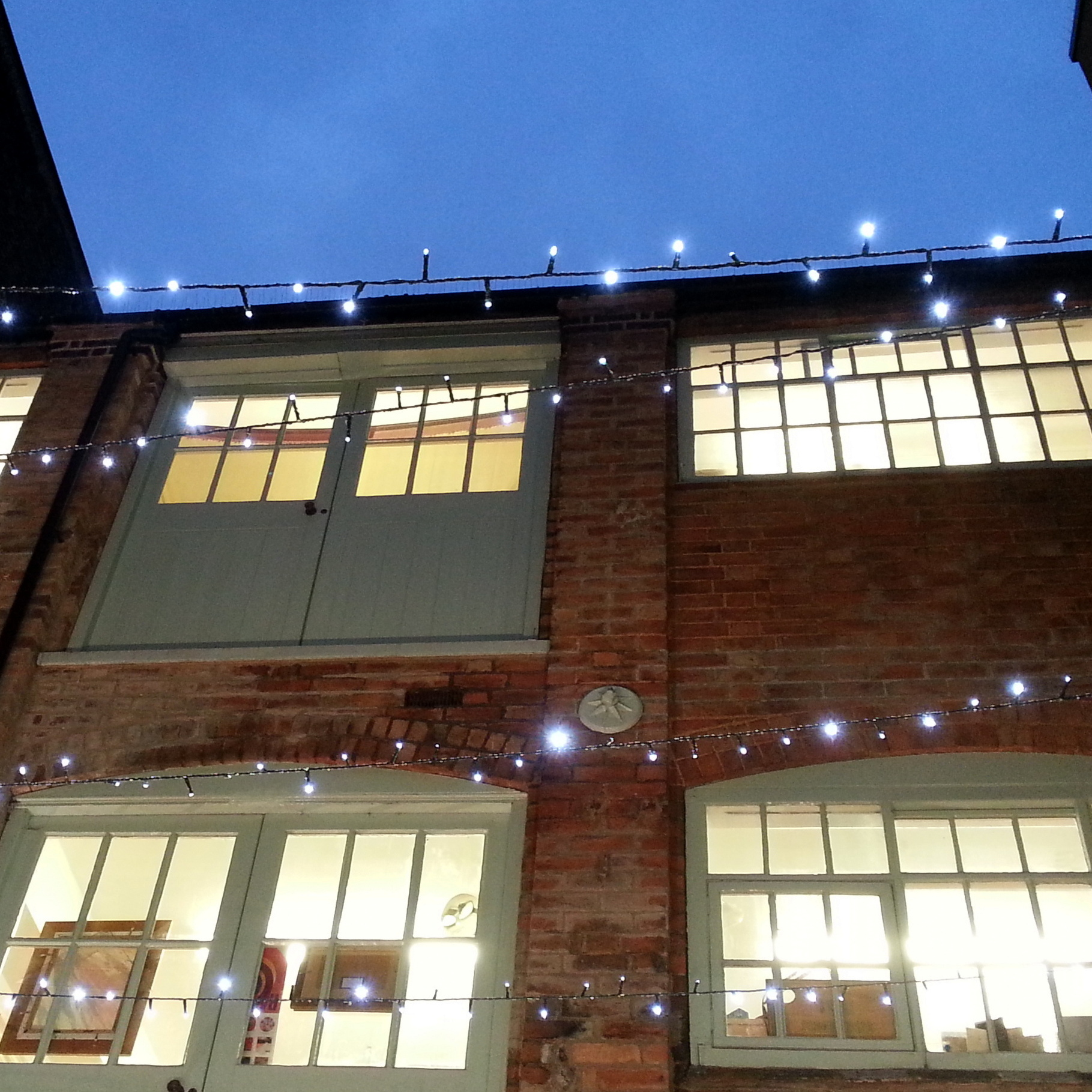 Makers' Yard at Christmas