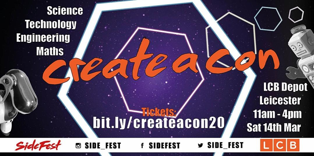 CreateACon 14 March 2020
