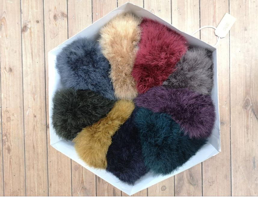 Giulia Mio fluffy hats