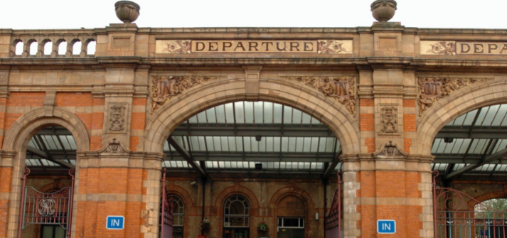 Leicester train station