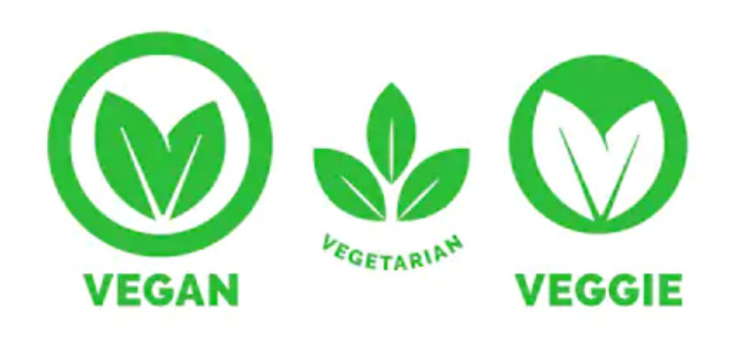 vegetarian and vegan logos